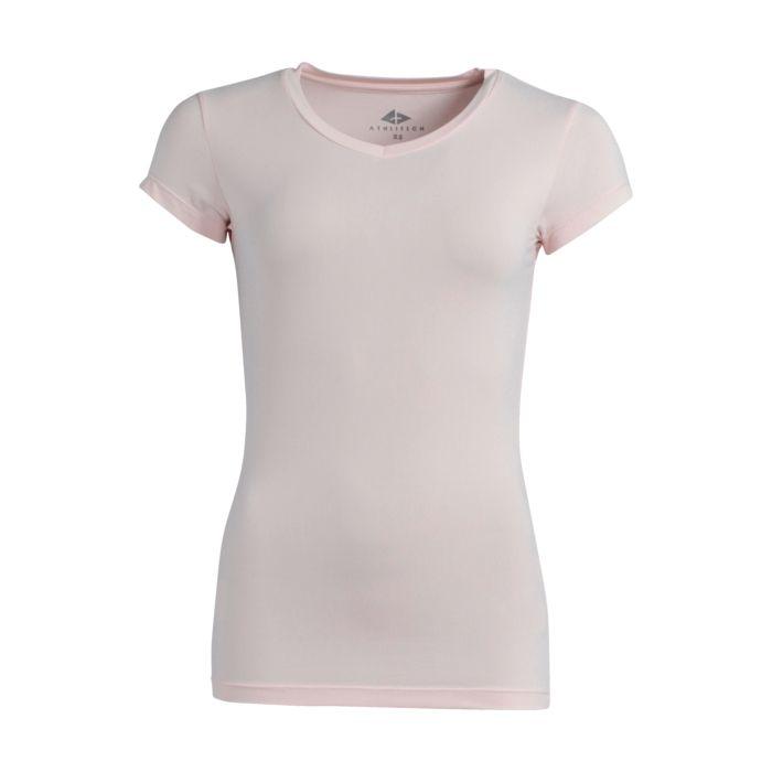 Tee-shirt - ATHLITECH - Polly Tmc - Rose Femme M