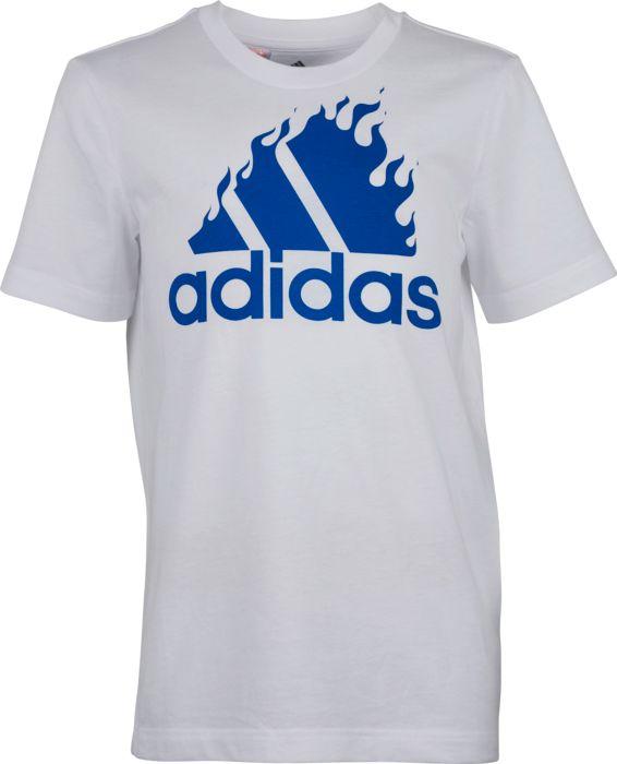 Tee-shirt - ADIDAS - Jb Bos Graph - Blanc Junior 8ANS