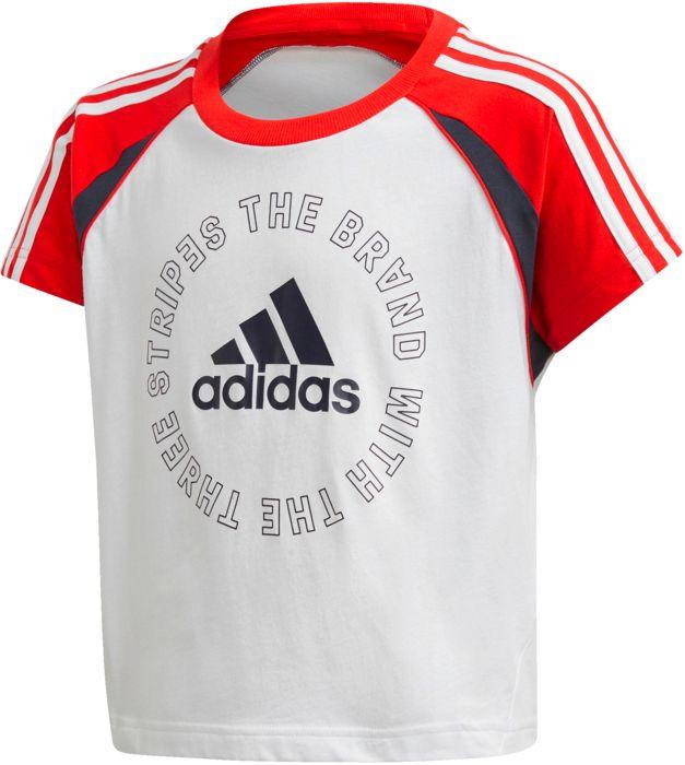 Tee Shirt Mc - ADIDAS - G Bold - Blanc Fille 12ANS