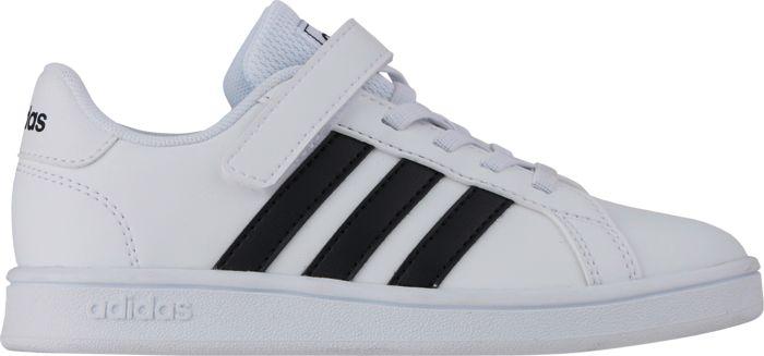 ADIDAS - Baskets - Grand Court C - Blanc Enfant 35