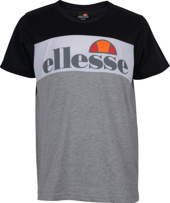 Tee Shirt Mc - ELLESSE - Tournette - Noir Junior 10ANS