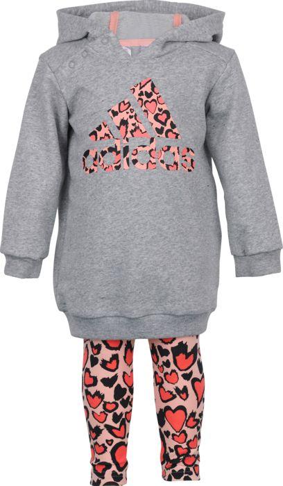 Survetement - ADIDAS - I Dress Set - Gris Enfant 3 MOIS