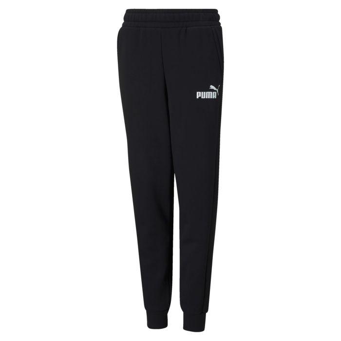 Pantalon - PUMA - Ess Sweat Pants Fl - Noir Garçon 16ANS