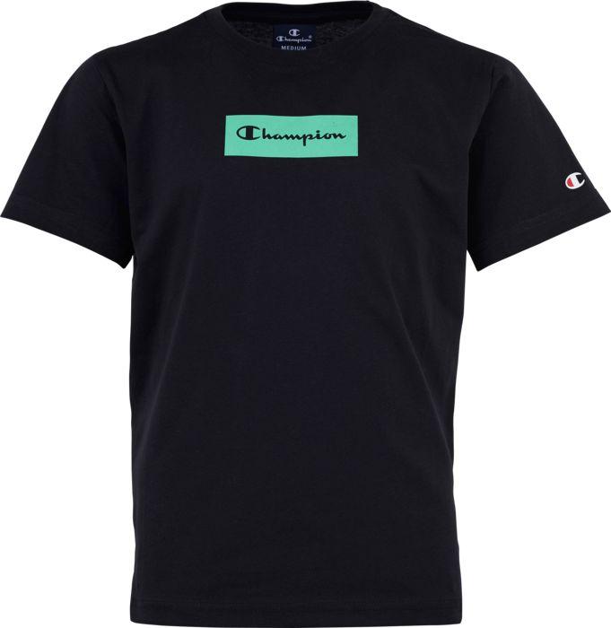 Tee-shirt - CHAMPION - Crewneck T-shirt - Noir Junior 8ANS