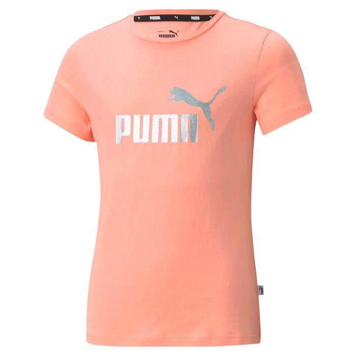 Tee Shirt Mc - PUMA - Ess Tte G - Rose Fille 16ANS
