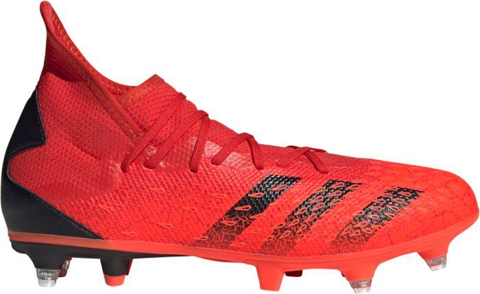 Chaussures - ADIDAS - Predator Freak .3 Sg - Rouge 44