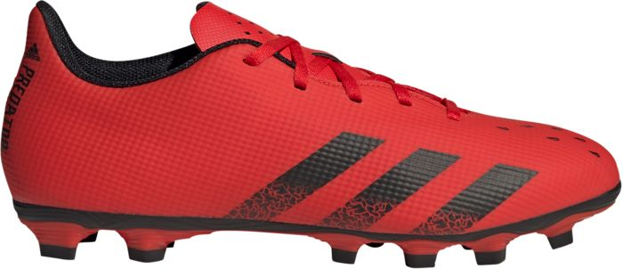 Chaussures - ADIDAS - Predator Freak .4 Fg - Rouge 41 1/3