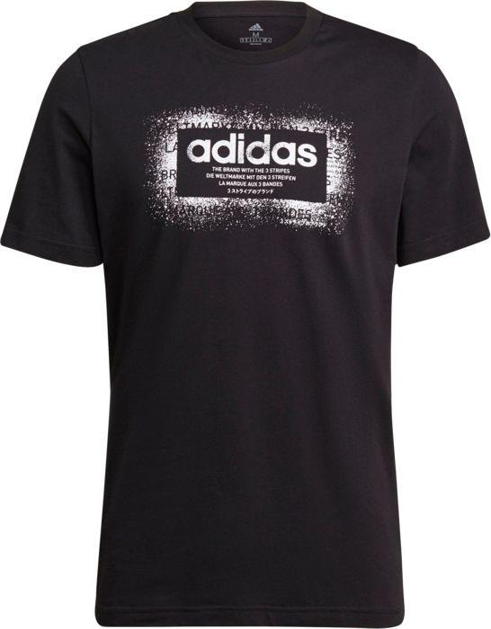 Tee Shirt - ADIDAS - Spry Bx - Noir Homme S
