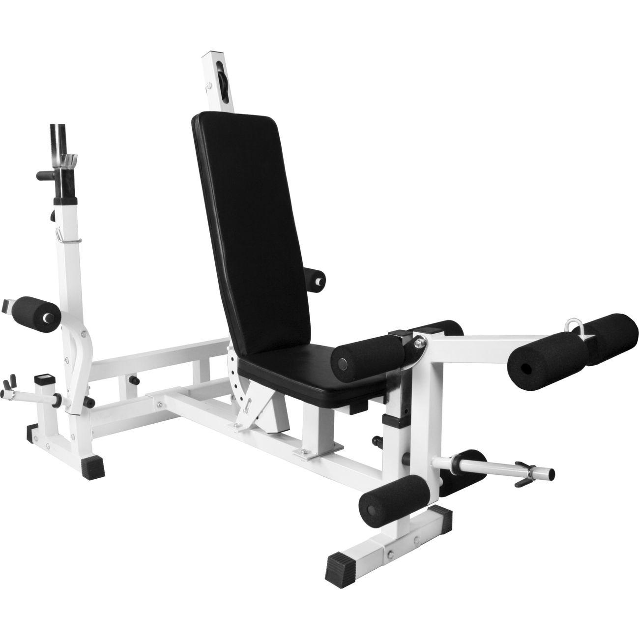 banc de musculation universel avec support pour haltere