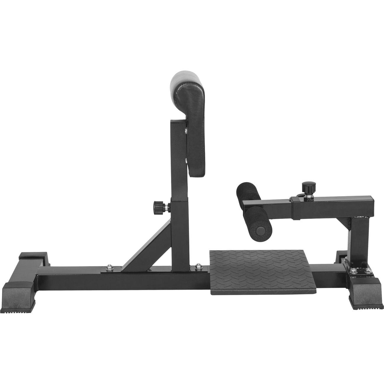 gorilla sports sissy squat machine appareil abdominal et dos achat et prix pas cher go sport. Black Bedroom Furniture Sets. Home Design Ideas