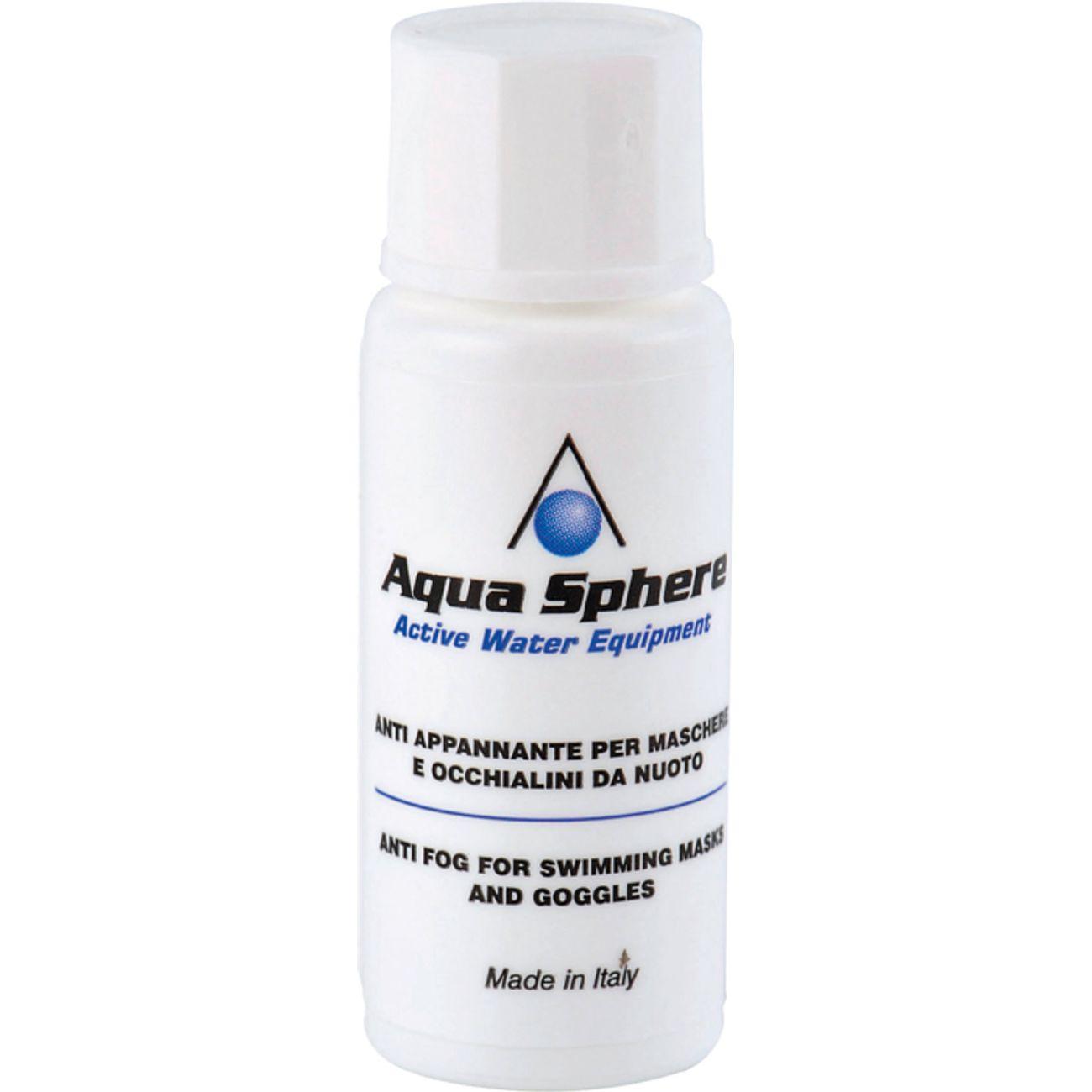ANTI-BUEE Natation  AQUASPHERE Ce traitement anti-buée garanti à vos lunettes Aqua Sphere une vision claire et crystalline.