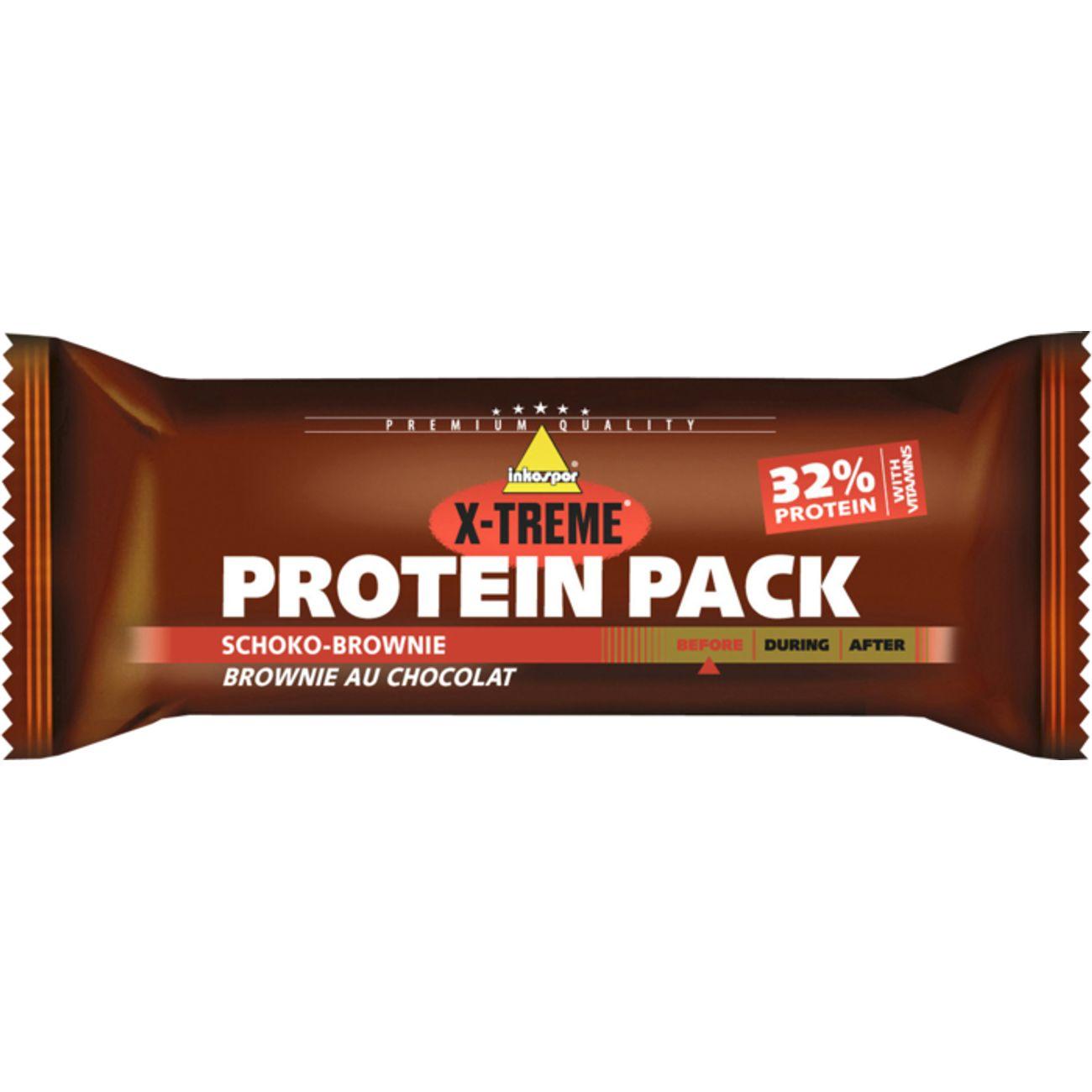 NUTRITION Multiactivité  INKOSPOR XTREME BARRE PROTEIN PACK CHOCO BROWNIE