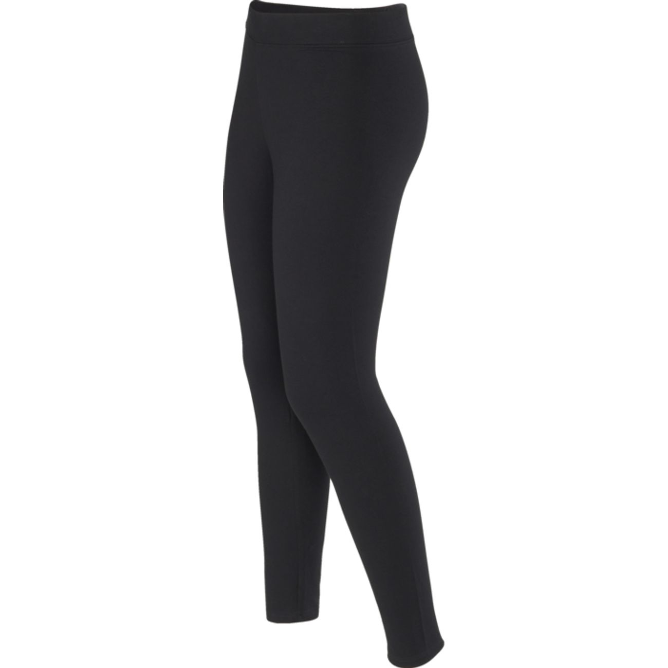 LEGGING Training femme SOFTWR UNI LEGGING LONG COLLANT, NOIR