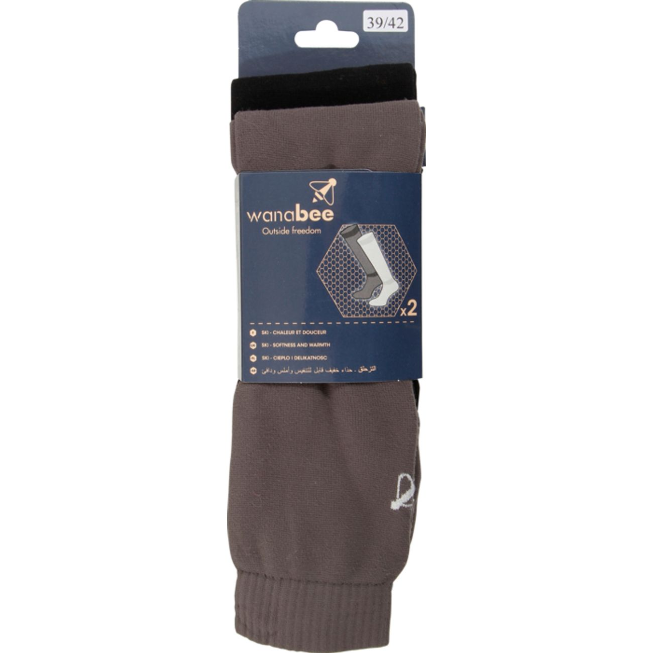 CHAUSSETTES Ski homme WANABEE POLAIRE ADX2