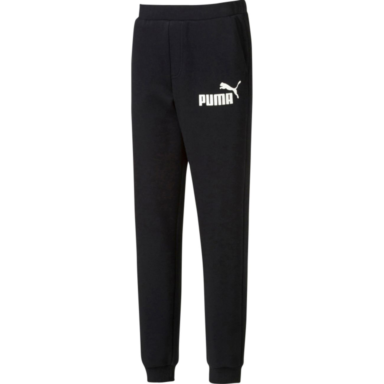 PANTALON GARCON Multisport garçon PUMA ESS LARGE LOGO SWEAT PANTS, CLOSED