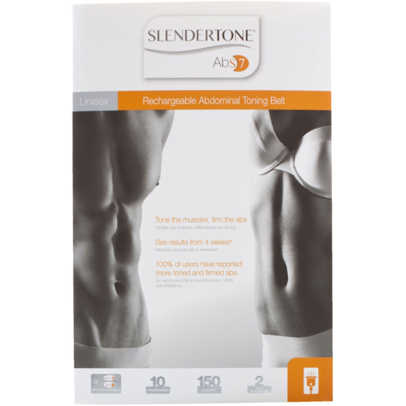 ELECTROSTIMULATION Fitness  SLENDERTONE CEINTURE ABS7