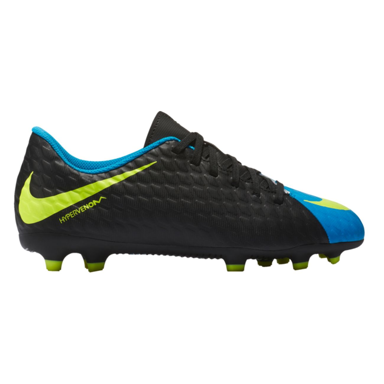 best sneakers e7154 72ecb chaussure football NIKE HYPERVENOM PHADE JR FG AH17 ...