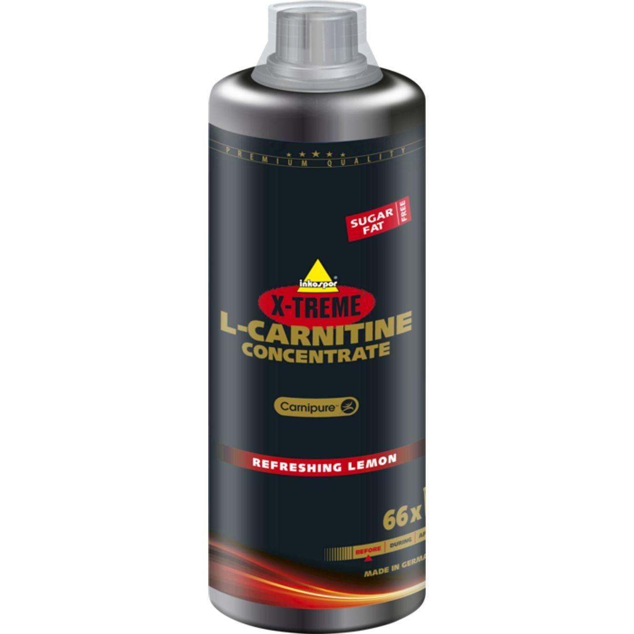 SECHAGE MUSCULAIRE   INKOSPOR XTREME L-CARNITINE CITRON 1L