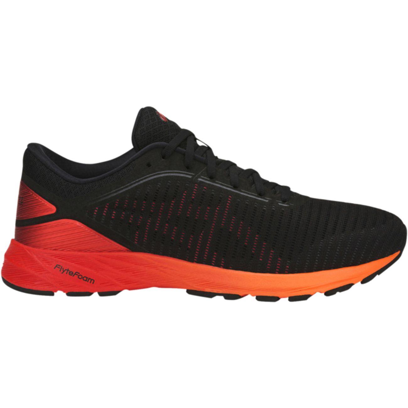 Asics Dynaflyte 2 Noir-Orange - Chaussures Baskets basses Homme