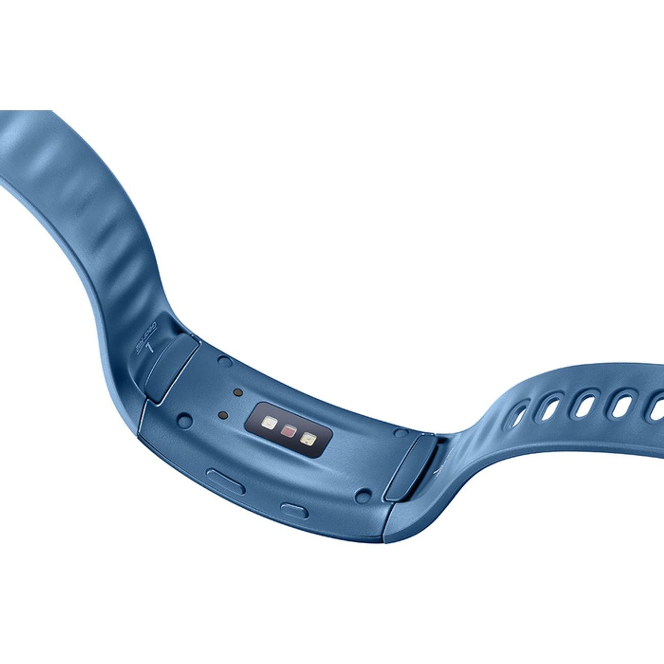 BRACELET CONNECTE Fitness  SAMSUNG GEAR FIT 2 BLANC TAILLE L