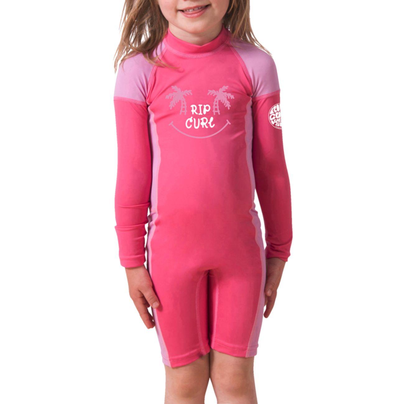 COMBINAISON Surf fille RIP CURL MINI LS UV SPRING