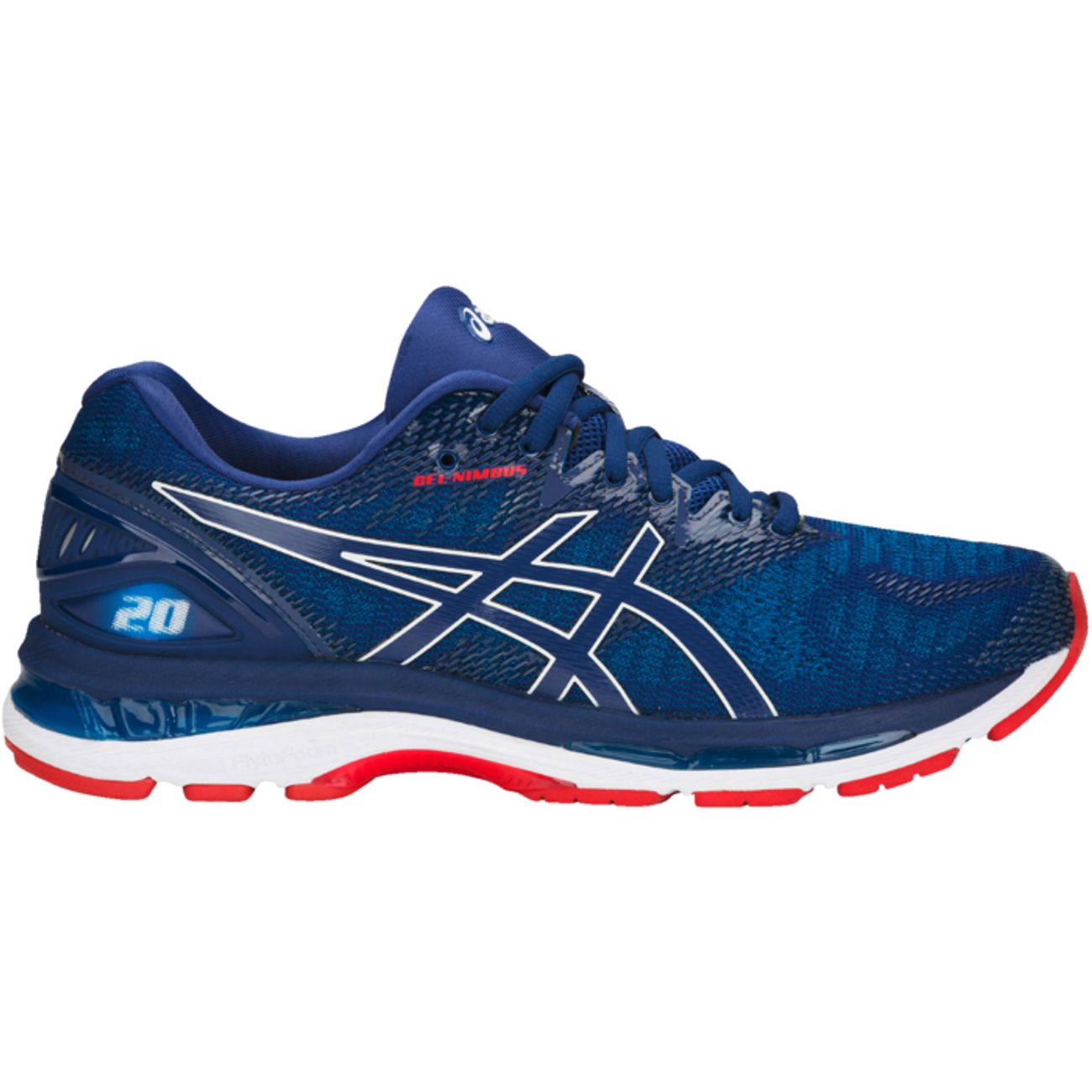 chaussures basses running homme asics gel nimbus 20