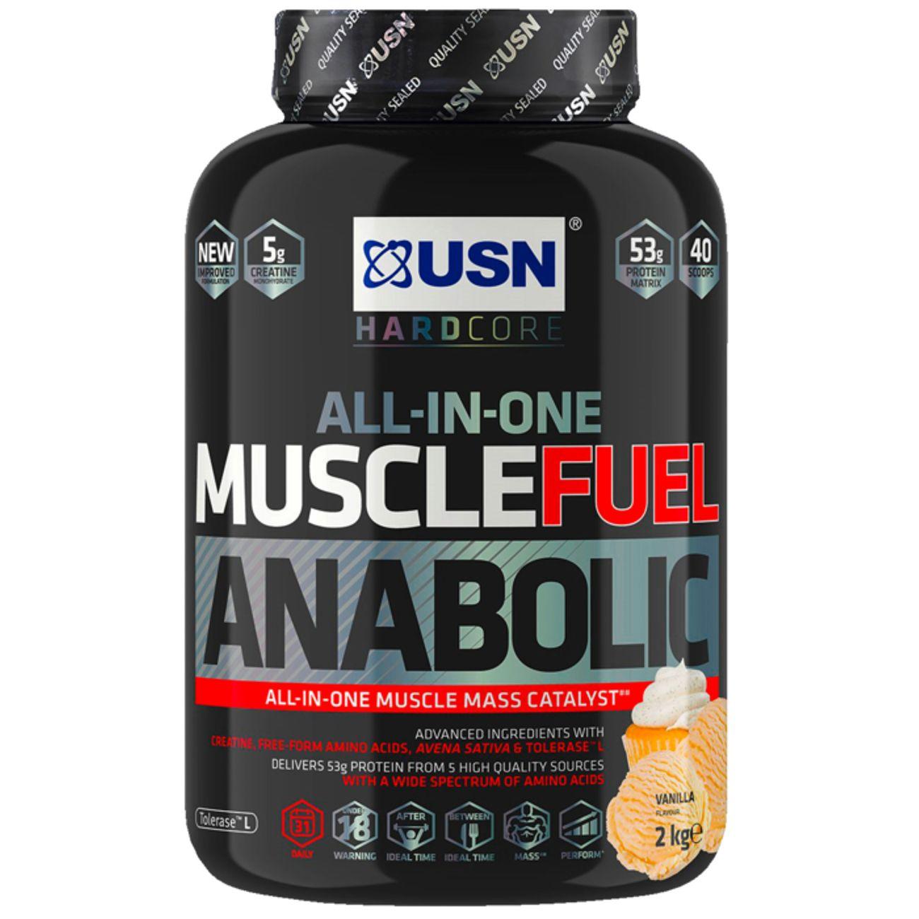USN NUTRITION MUSCLE FUEL ANABOLIC VAN 2 KG