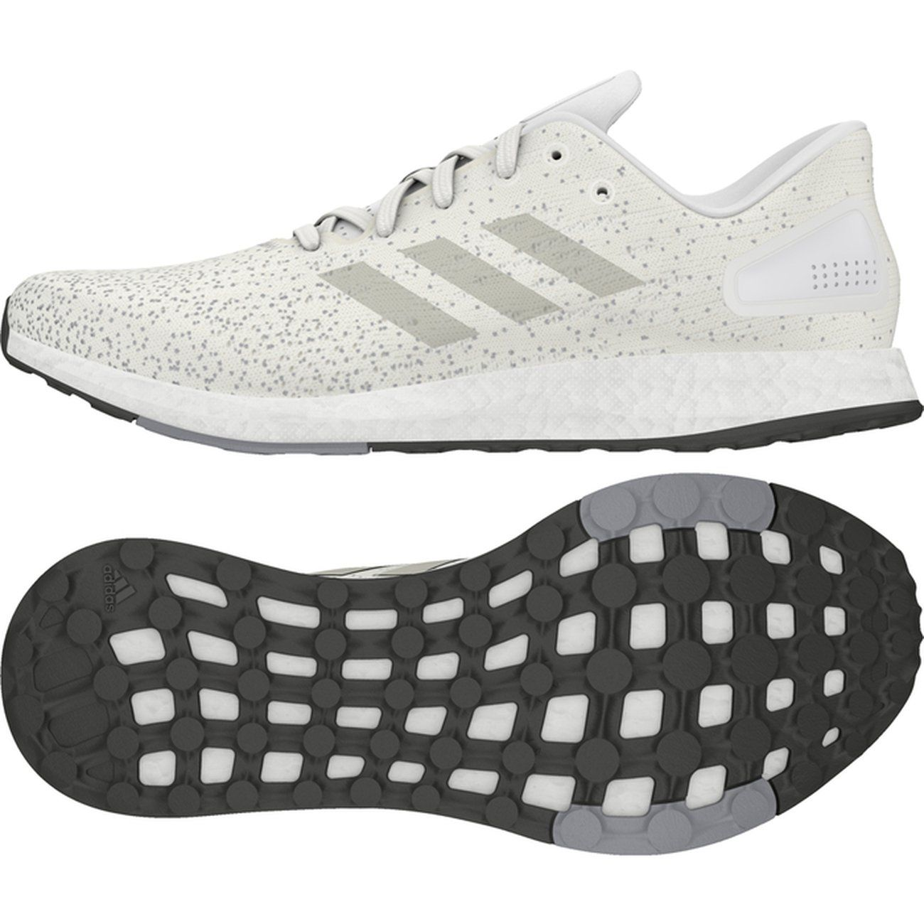 save off 3ea91 12b19 CHAUSSURES BASSES running homme ADIDAS PureBOOST DPR M, BLANC ...
