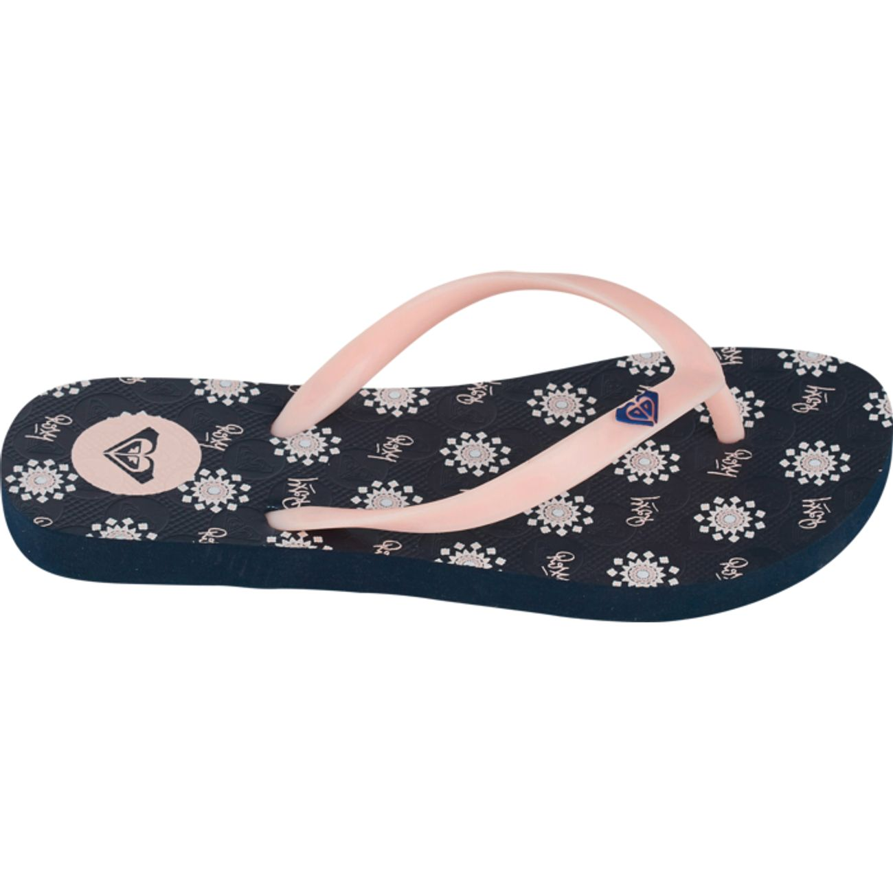 TONGS Loisirs enfant ROXY GIRL TO THE SEA SLAPS STARS DOTS