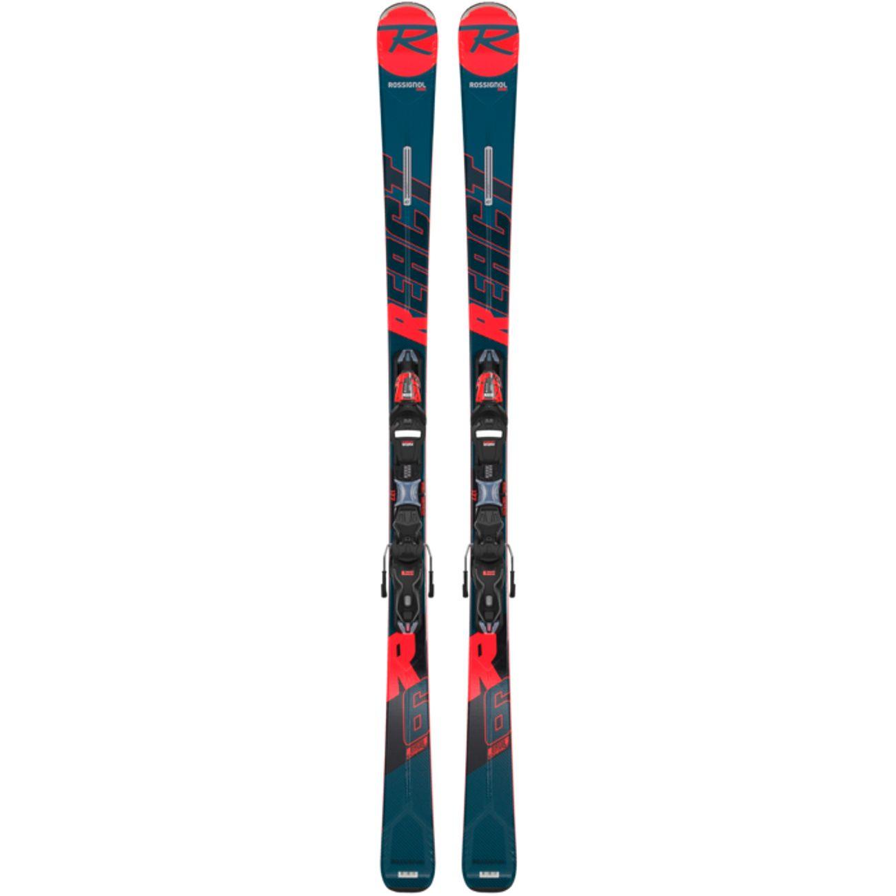 SKIS Ski adulte ROSSIGNOL REACT R6 COMPACT XPRESS 11 GW B83 B