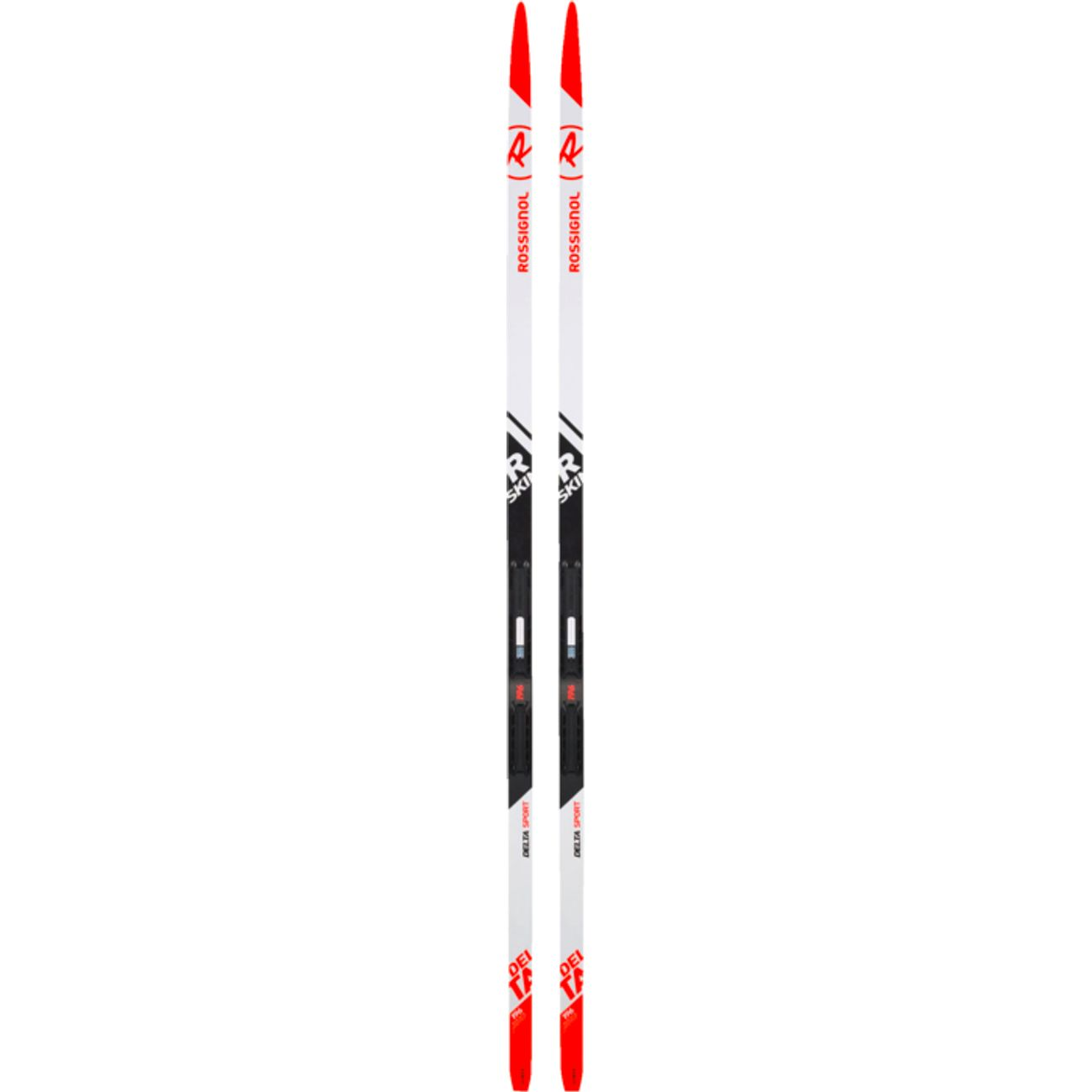 SKIS Ski junior ROSSIGNOL DELTA SPORT R-SKIN IFP + Fixation RACE CLASSIC