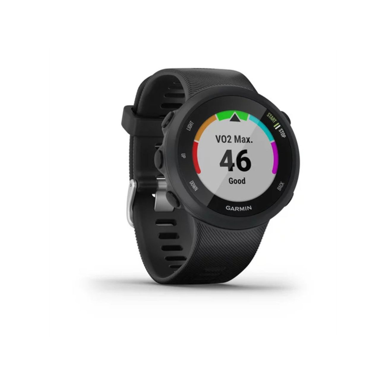 MONTRE CONNECTEE   GARMIN Montre connectée FORERUNNER 45 - Large Noir