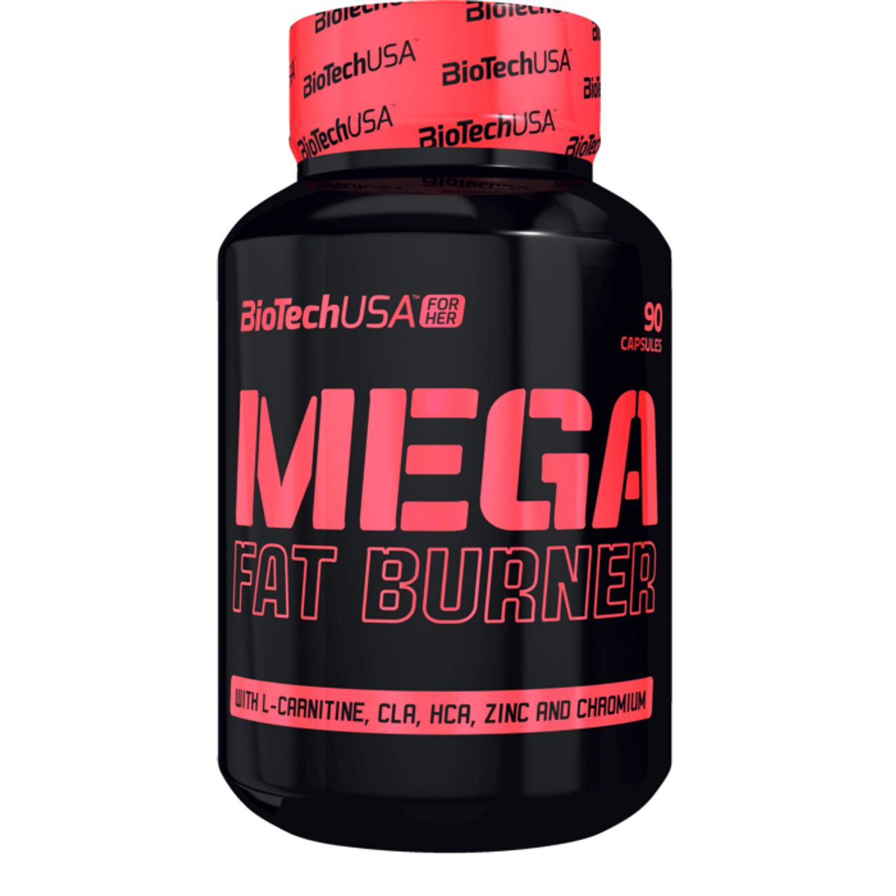 BIO TECH USA MEGA FAT BURNER 90 GELULES