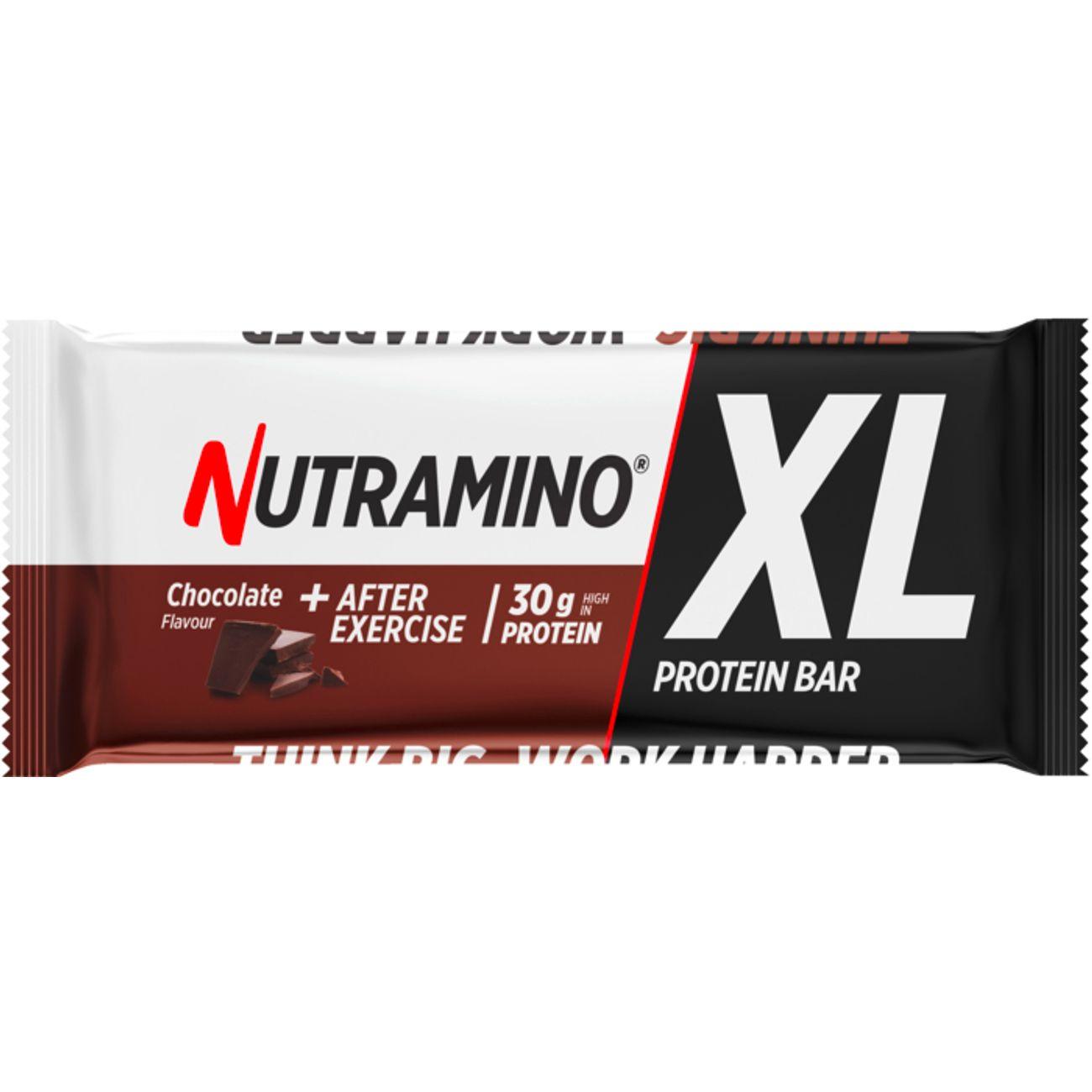 Barre protéinée Musculation mixte nutramino PROTEINBAR XL CHOC