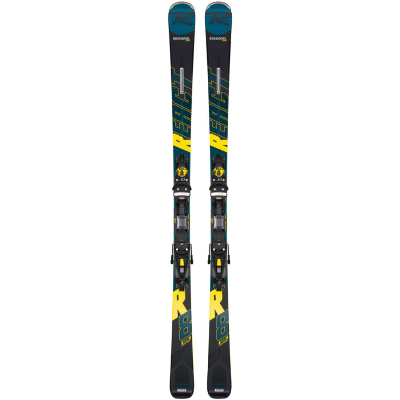 SKIS Ski adulte ROSSIGNOL REACT R8 HP/NX12 K.GW