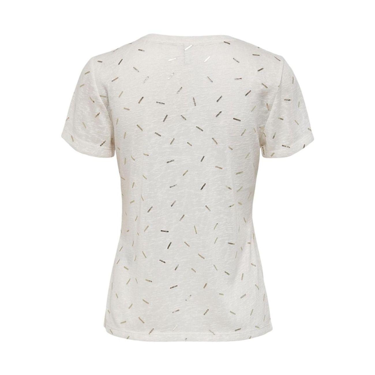 Tee Shirt MC Multisport femme ONLY STEPHANIA  FOIL