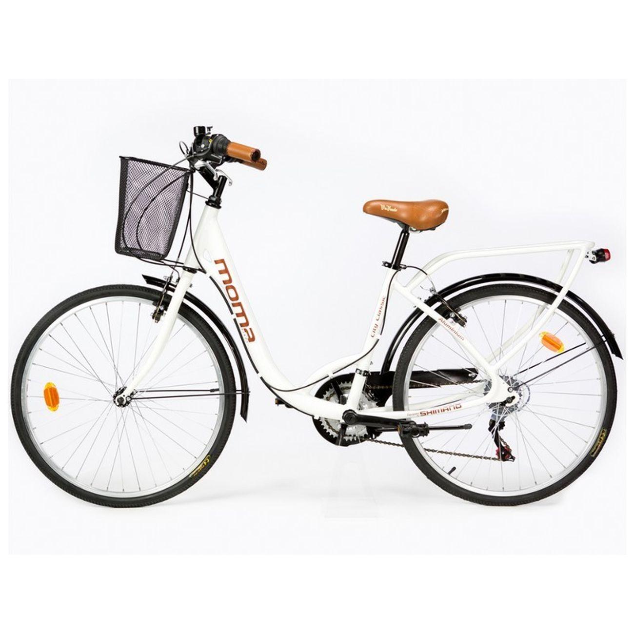 Cycle  MOMABIKES Moma Bikes, Vélo de Ville City Classic 26