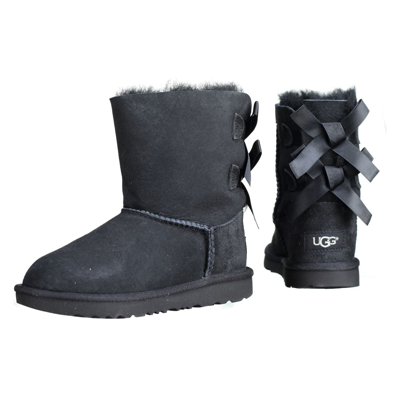 879eacab79103 Mode- Lifestyle fille UGG Bottes fille UGG T Bailey Bow 2 1017394t T   Black  ...