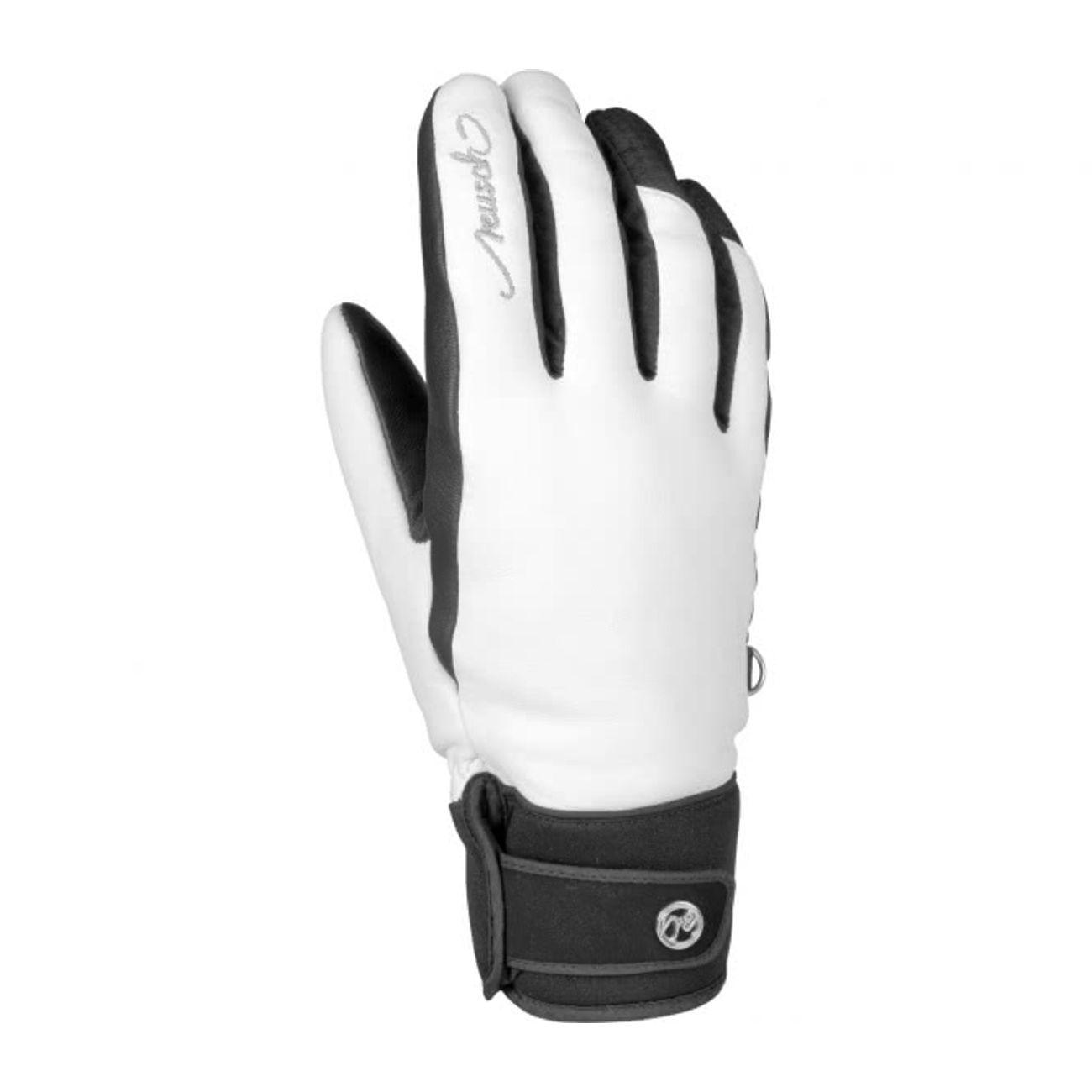 b4db02a2f5ac7 Reusch - Thais Femmes Gants de ski (blanc/noir) – achat et prix pas ...