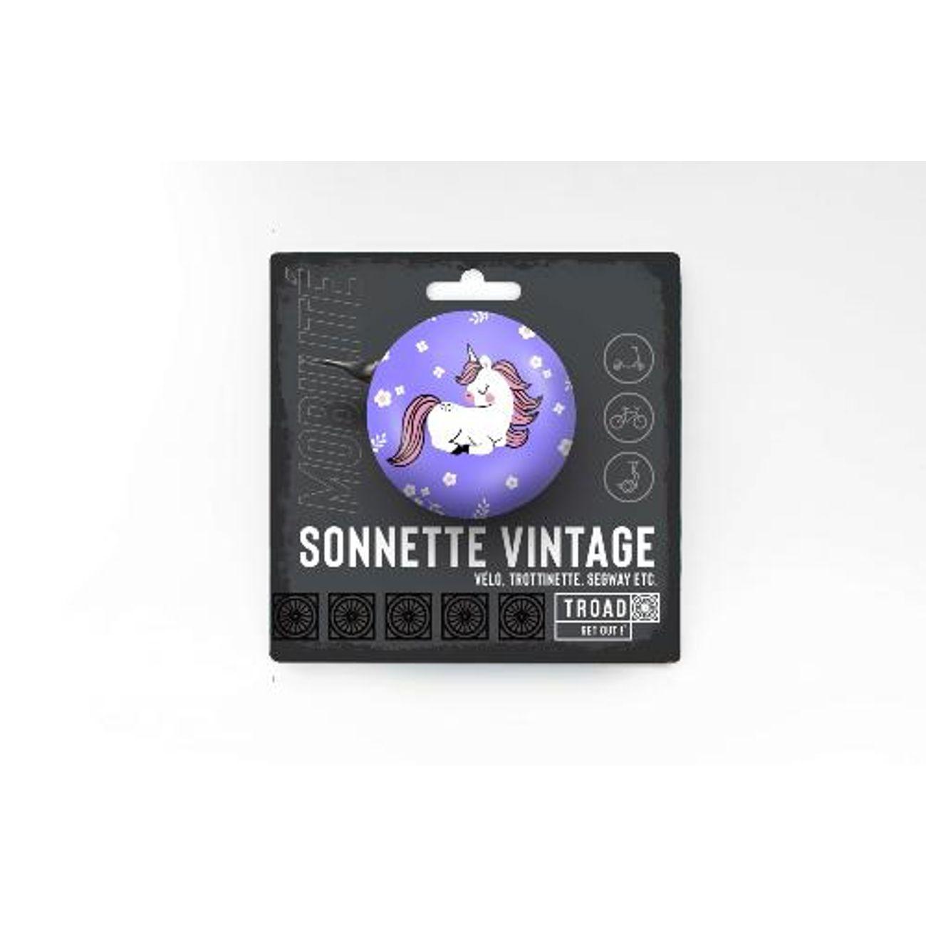 TOAD DRING F Sonnette vélo et trottinette vintage - Fille