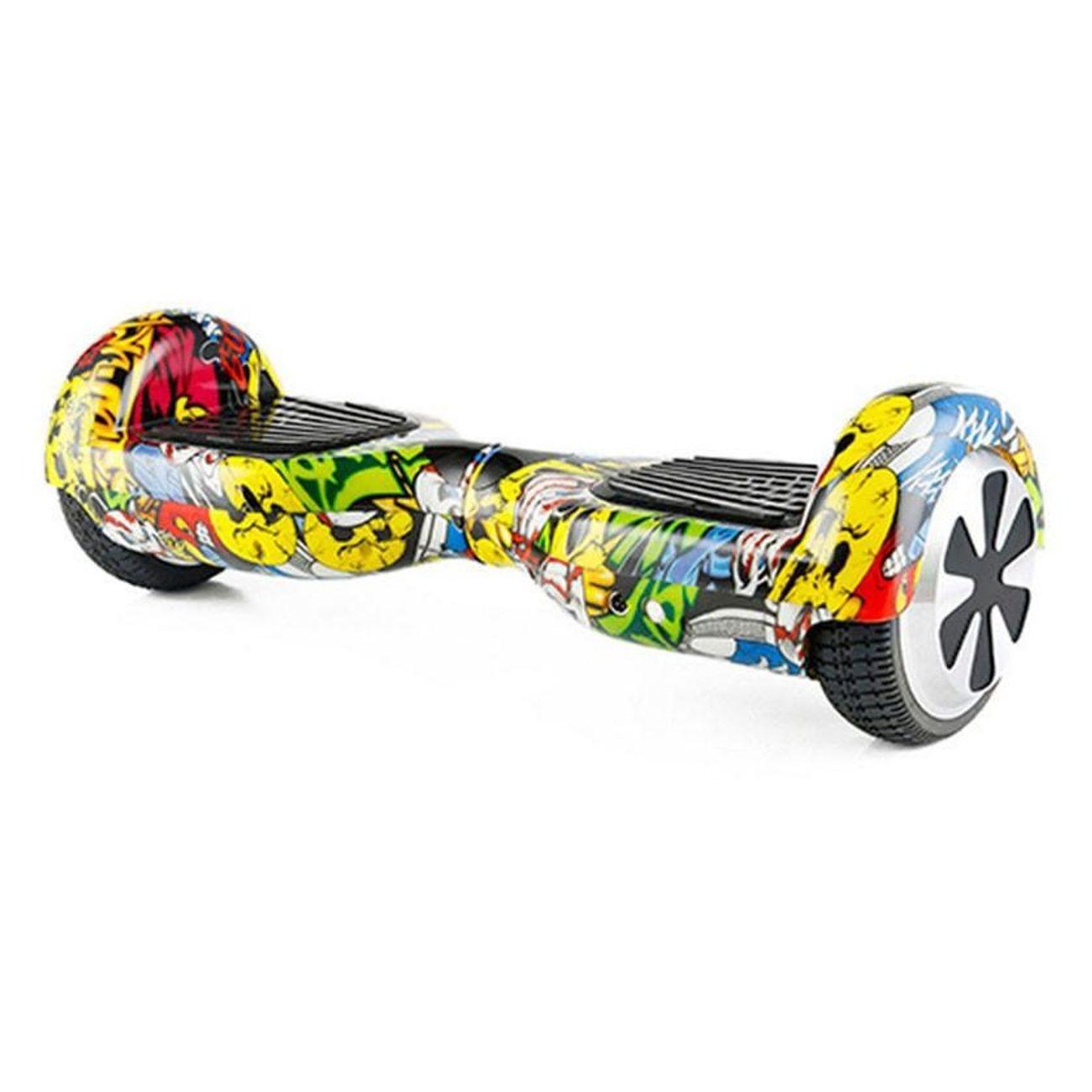 Glisse urbaine  AIR RISE Hoverboard 6,5 Pouces Hip Pop Bluetooth+ sac de transport+ télécommande