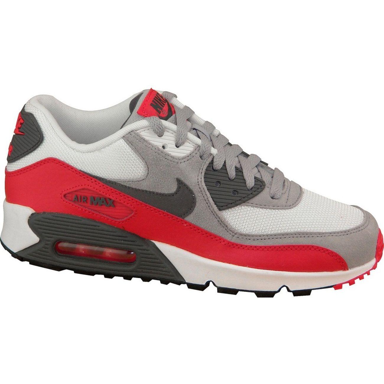 mieux aimé 96799 c8455 Mode- Lifestyle enfant NIKE Nike Air Max 90 Gs 705499-003 U Baskets  Blanc,Gris,Rouge