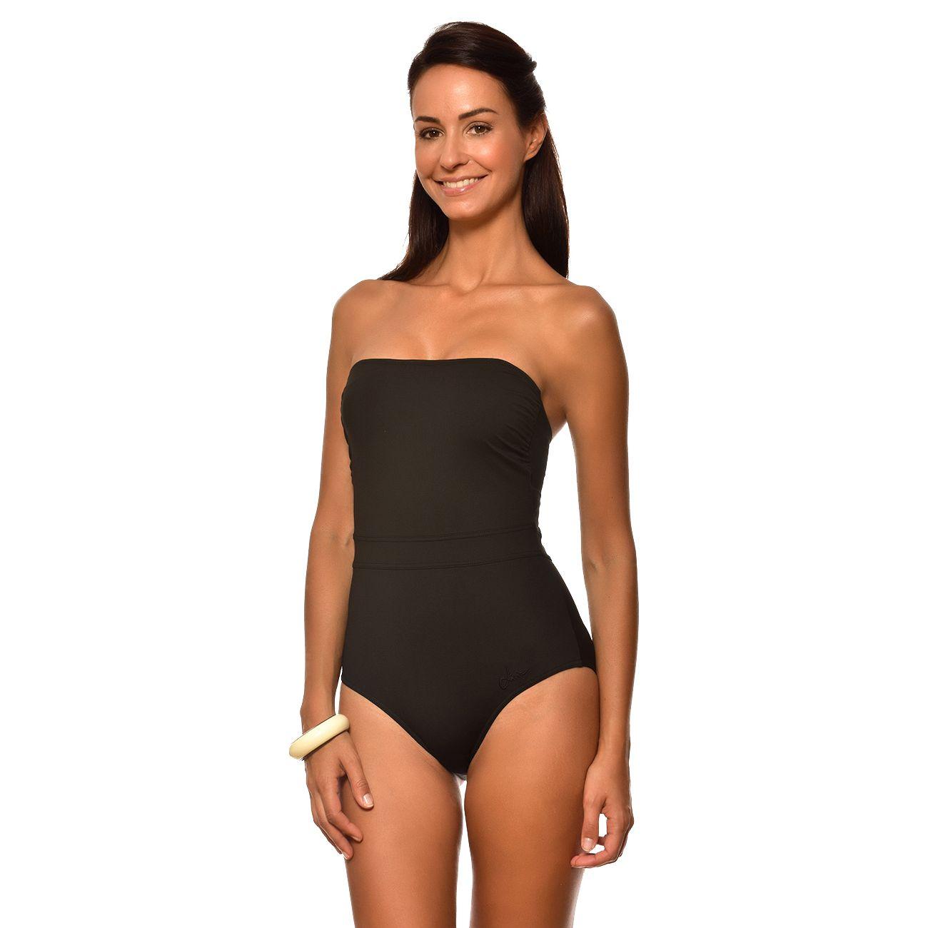 452d6edcb2 Mode- Lifestyle femme LIVIA Maillot de bain 1 Pièce Bustier Livia Lavandou  Isabel Noir ...