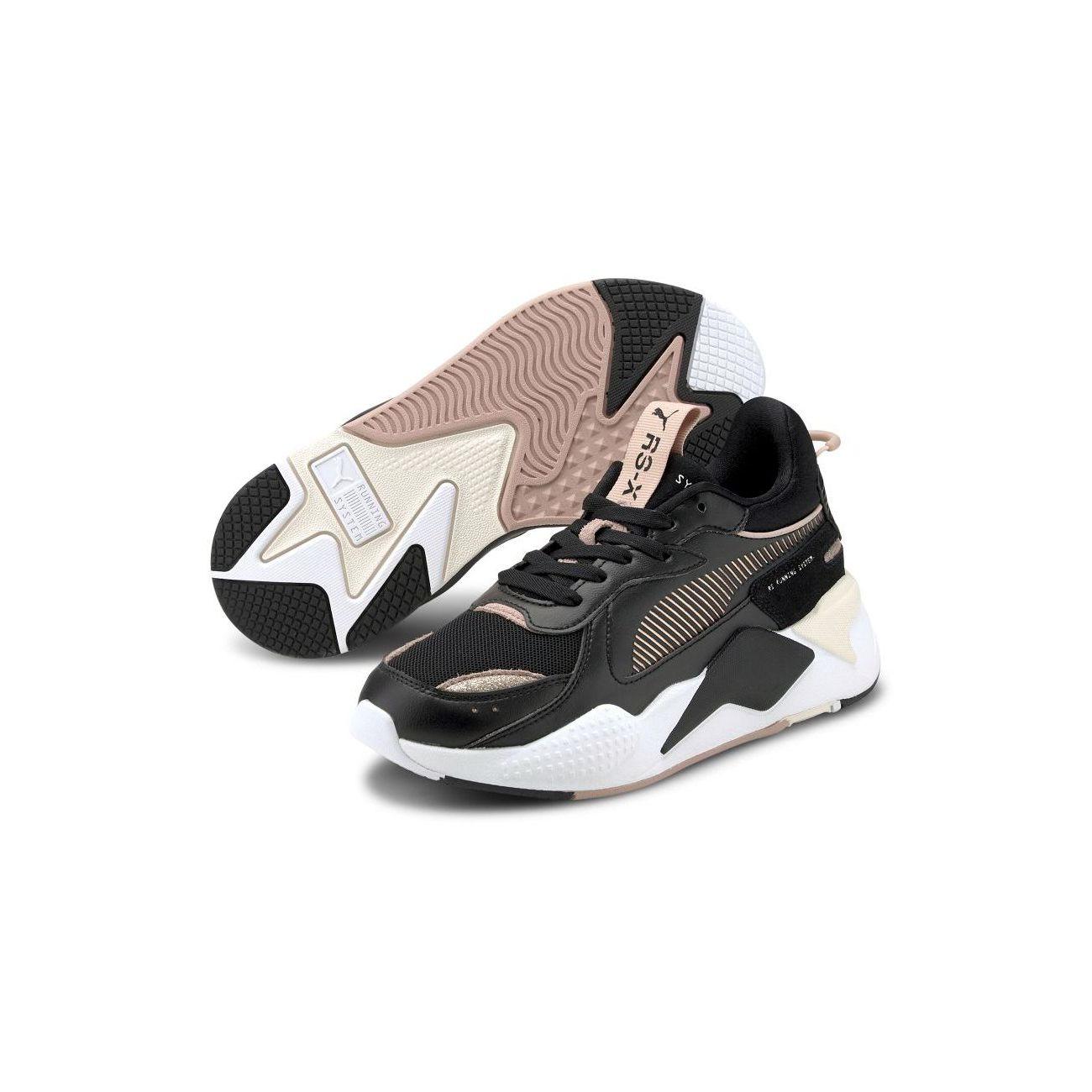 Mode- Lifestyle femme PUMA Baskets RS-X Mono Metal