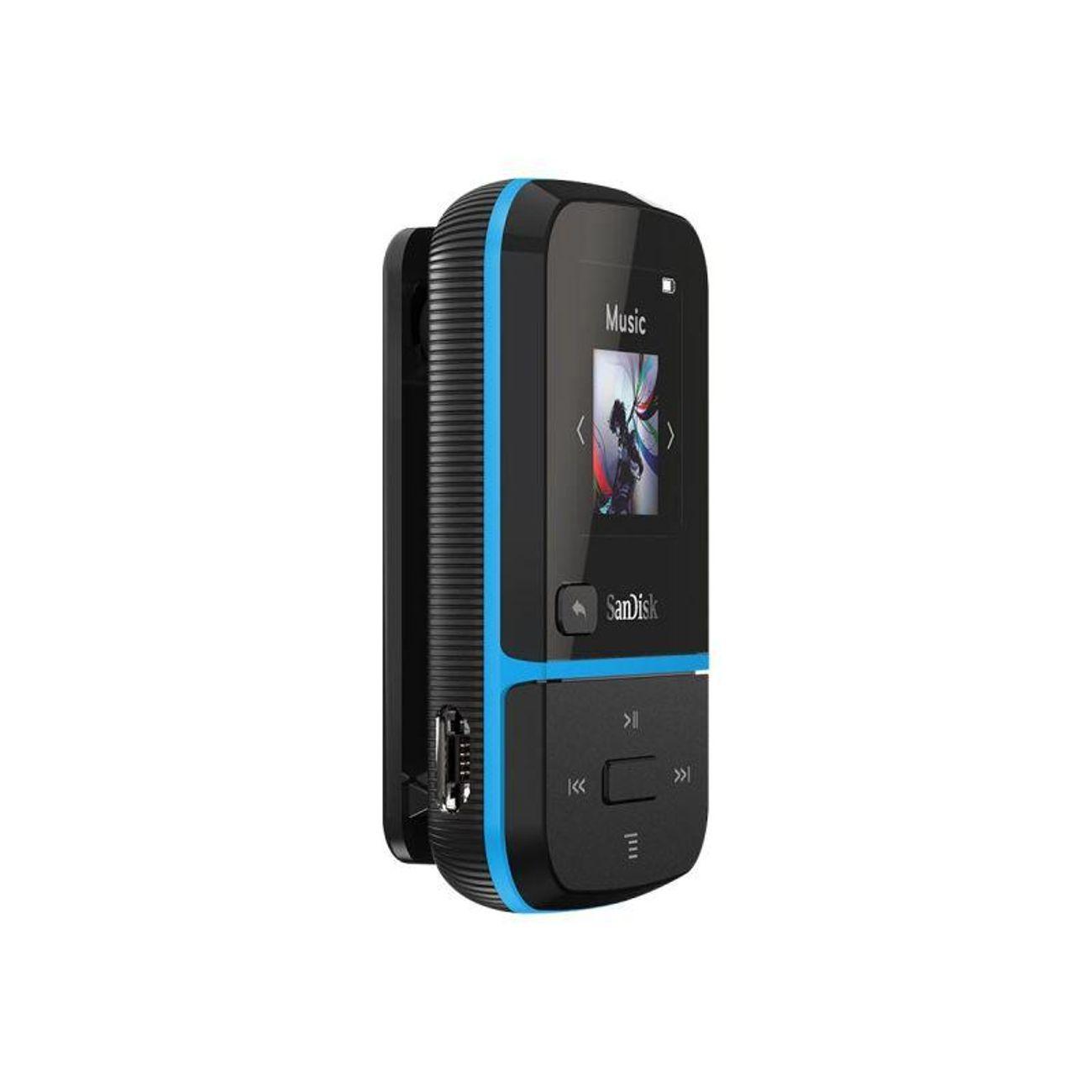 NO NAME SanDisk MP3 Clip Sport Go 32GB blue retail SDMX30-032G-G46B