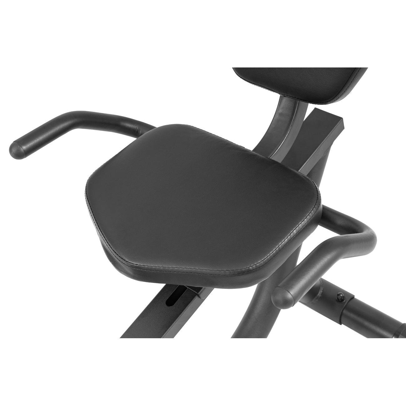 Cardio Fitness  HS HOP SPORT HS HOP-SPORT Vélo semi-allongé HS-035L Solo Rouge + Roulettes de transport