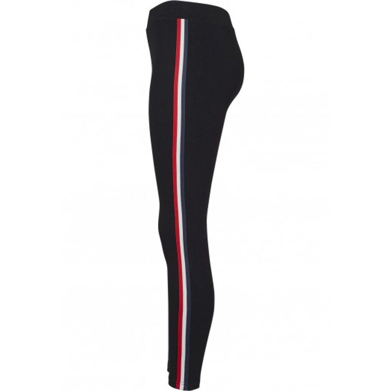 Mode- Lifestyle femme URBAN CLASSICS Legging rétro avec bande bicolore