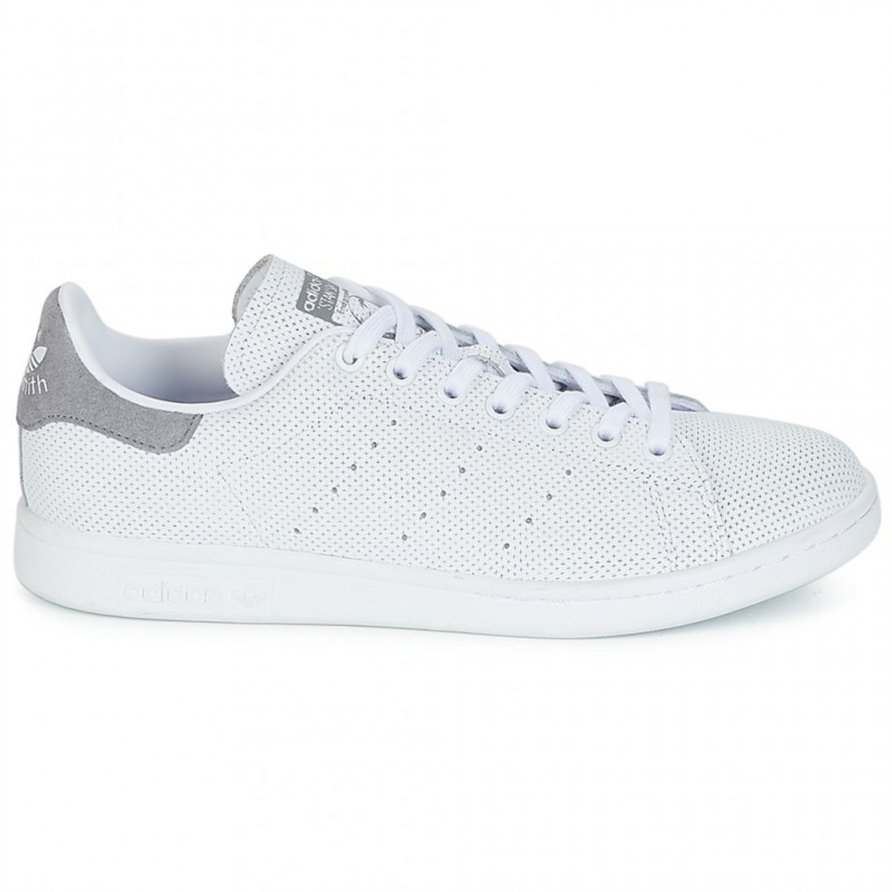 Stan Adidas B41470 Chaussure Cuir grey Outdoor 13 Adulte 45 Smith Cuir textile Blanc PlkXTiwOZu