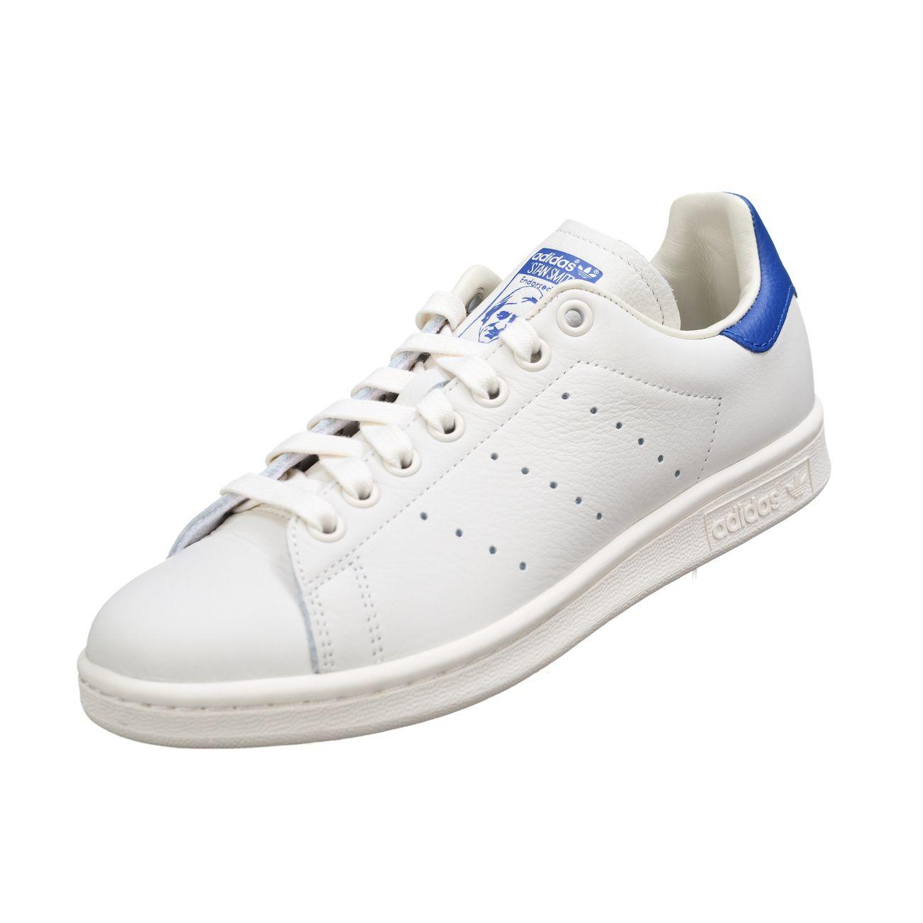 9b2d151cbe8 homme ADIDAS Basket Adidas Stan Smith B37899 Blanc Bleu