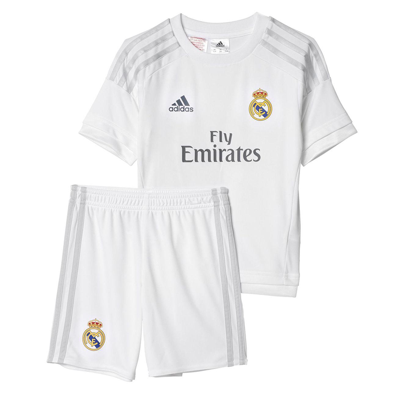 95832a45685f8 MAILLOT ADIDAS Clubs Adidas Performance Mini Kit Real Madrid 13 14 Enfant  ...